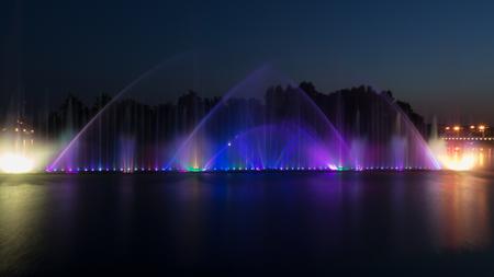 zafiro: Fuente en la ciudad ucraniana de Vinnitsa