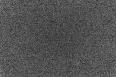Black and white background with digital noise digital camera matrix. copy space.
