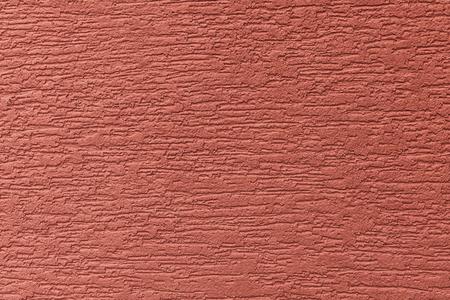 Geschilderde gevelwand. Gebouw met structurele rode kleurverf. Ontwerp patroon