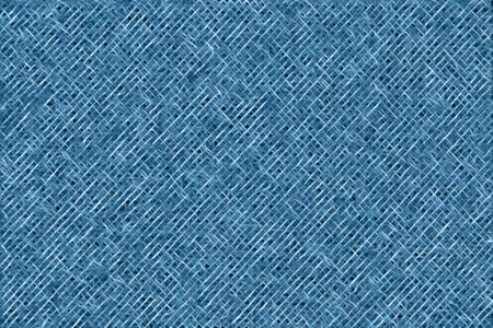 Abstract blue luminous fabric illustration. Seamless texture. Design pattern for background. Stock Photo