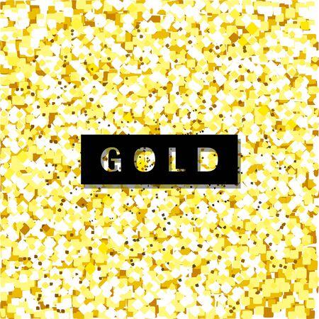Gold vector texture.