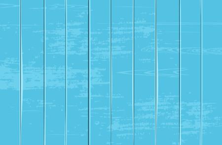 Blue wooden texture. Grunge vintage old effect. Vertical. Vector illustration