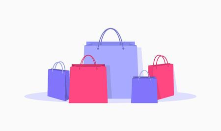 Shopping bags set.