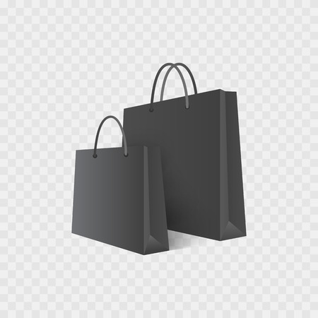 Shopping bag. Isolated on white. Sale. 스톡 콘텐츠 - 115844402