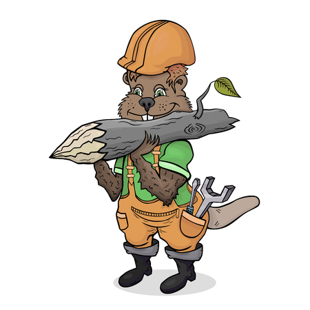 industrious: The industrious beaver builder by profession
