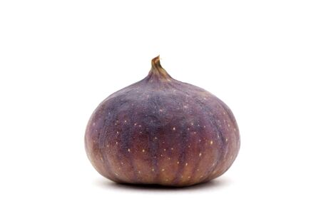 Fresh fig isolated on white background. With clipping path.