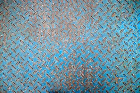 Blue Stainless Steel Expanded Metal Sheet Background
