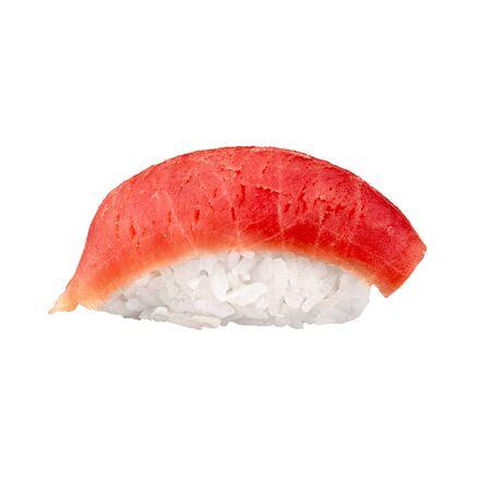 Tuna Sushi sashimi isolated