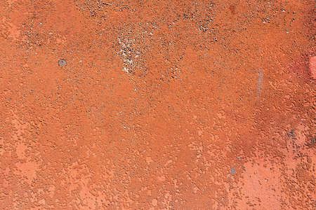 Colored rusty stained metal wall texture pattern can used for background 版權商用圖片