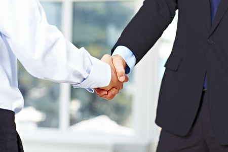 Business men hand shake at the office Stock Photo - 9071829
