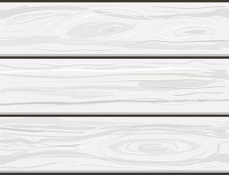 Hand drawn vector grey wooden planks boards texture