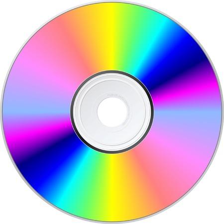CD disk. Vector