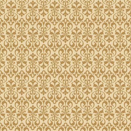 Floral seamless wallpaper. Ilustra��o
