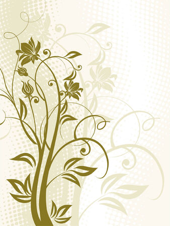 Flowers. Stock Vector - 5609070