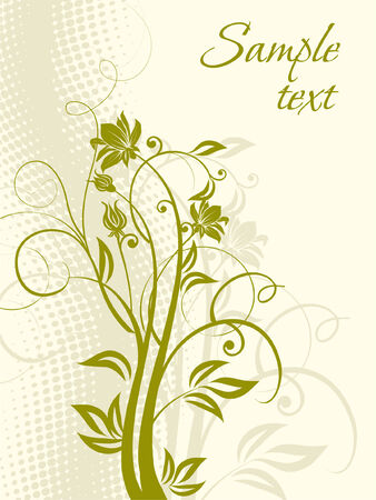 Flowers. Stock Vector - 5609069