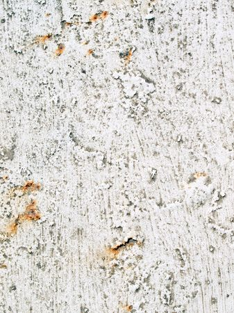 mottling: White paint background.