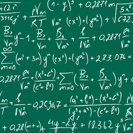 Equation seamless. Ilustra��o