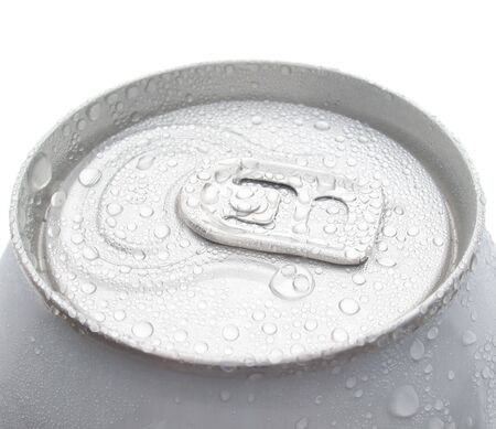 Can on white background (isolated). photo