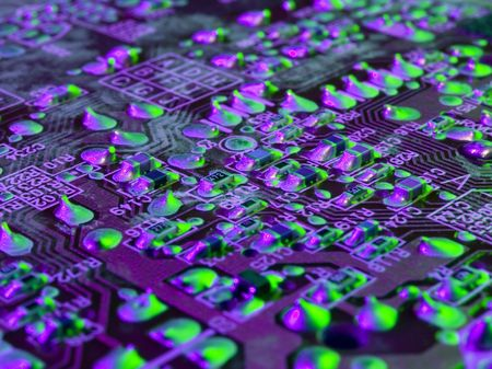 mainboard: Mainboard abstract background pattern. Stock Photo