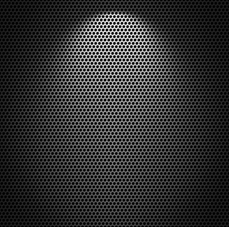 reticular: Metal net monochromatic texture background.