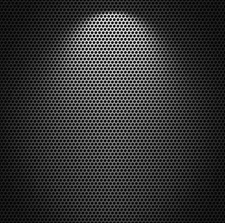 Metal net monochromatic texture background. Stock Photo - 6168393