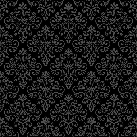 Seamless vector floral pattern. Vector