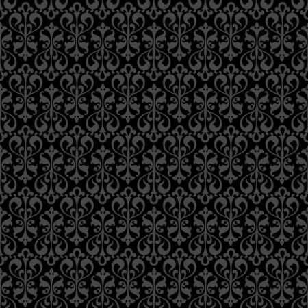 Seamless floral pattern for continuous replicate. Vector