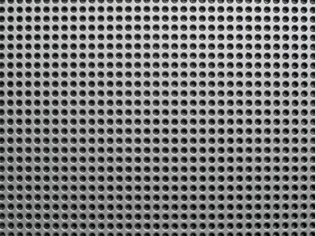 Abstract metal perforated background. Stock Photo - 6409648