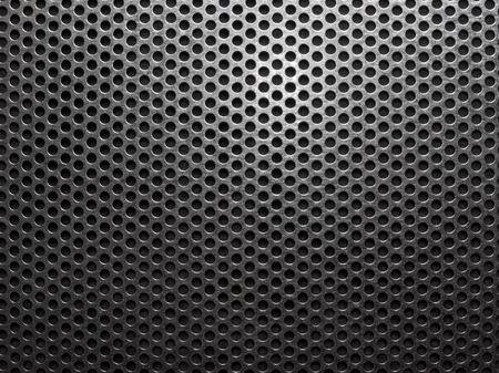 Metal net monochromatic texture background.