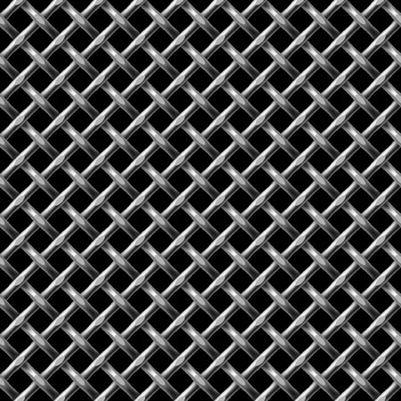 replicate: Metal net seamless background - pattern for continuous replicate. Illustration