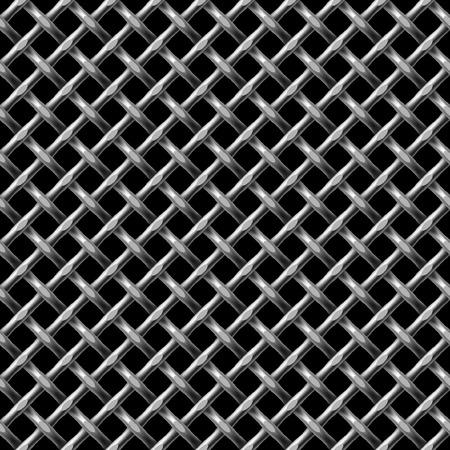 metal net: Metal neto transparente fondo - patr�n para la replicaci�n continua.