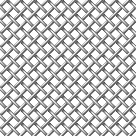 replicate: Metal net seamless - pattern for continuous replicate. Illustration