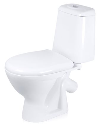Toilet bowl isolated on white background. Stock Photo - 6519654