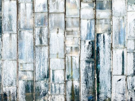 the desolate: Painted grunge glass abstract background. Stock Photo