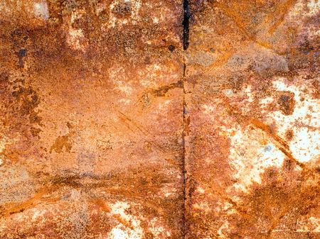 Rusted metal surface closeup background. Stock Photo - 6599681
