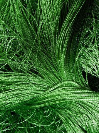 stitchcraft: Green decorative sewing closeup background.