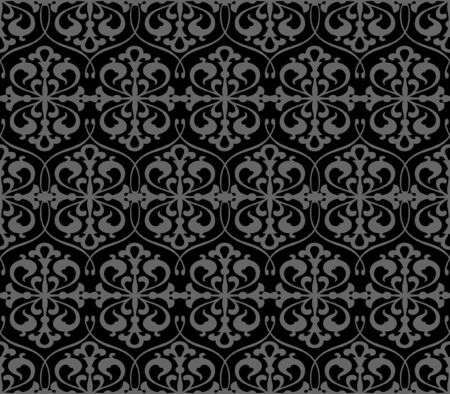 Seamless floral background - pattern for continuous replicate. See more seamless patterns in my portfolio. Stock Vector - 7140235