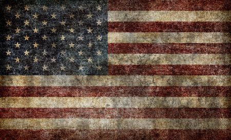 American flag background Stock Photo - 7153578