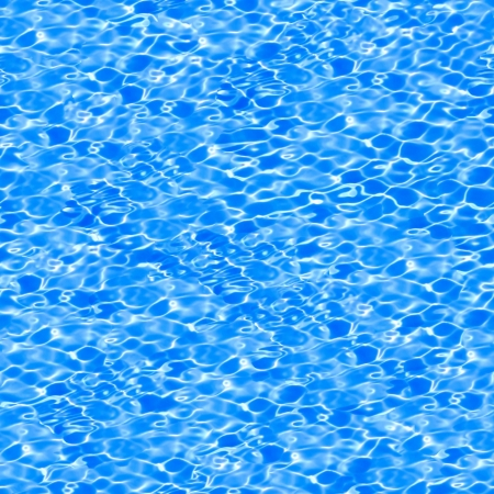 Seamless pattern of blue water in pool. See more seamless backgrounds in my portfolio.  photo