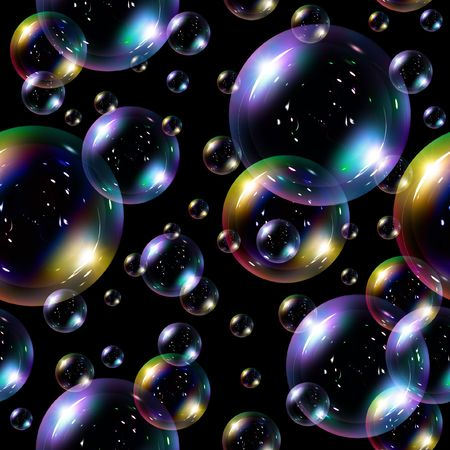 Soap bubbles seamless background - texture pattern for continuous replicate. See more seamless backgrounds in my portfolio.  photo