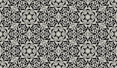 ペルシア: アラビア語の花シームレス パターン連続レプリケーションの背景私のポートフォリオでより多くのシームレスなパターンを参照してください。