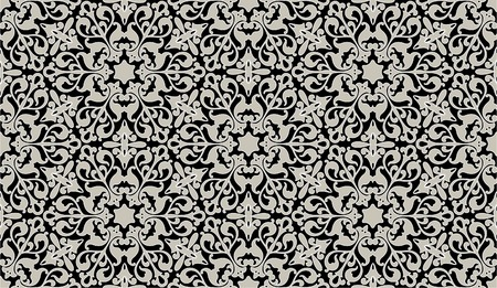 arabic style: Arabic floral seamless pattern - background for continuous replicate. See more seamless patterns in my portfolio.
