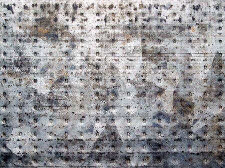 Metal surface closeup background. Stock Photo - 7672424