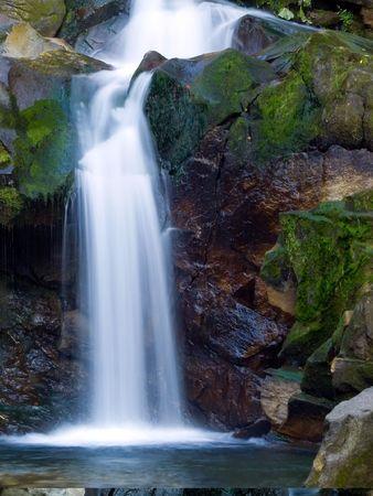 streamlet: Mountain stream.