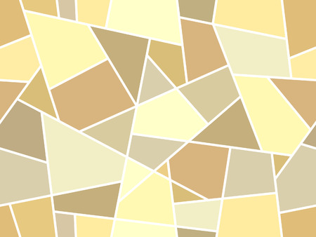 yellowish: Abstract linear mosaic seamless pattern - pattern for continuous replicate. See more seamless backgrounds in my portfolio. Illustration
