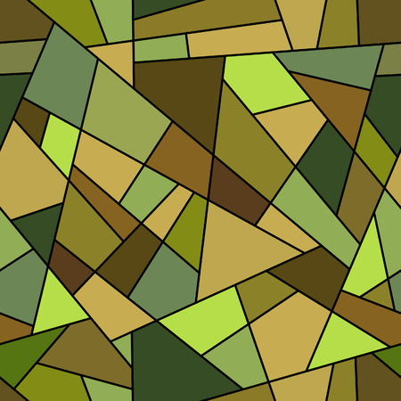 Abstract linear mosaic seamless pattern -pattern for continuous replicate. See more seamless backgrounds in my portfolio. Stock Vector - 8038713