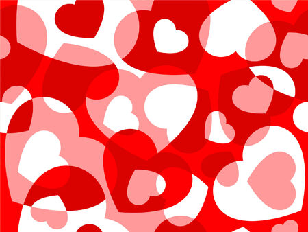 random pattern: Hearts seamless background -pattern for continuous replicate. See more seamless backgrounds in my portfolio.