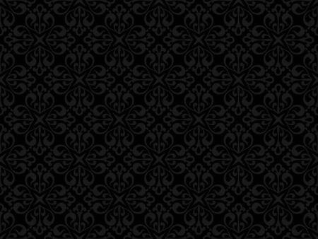 seamless tile: Floral seamless pattern - background for continuous replicate. See more seamless backgrounds in my portfolio.  Illustration