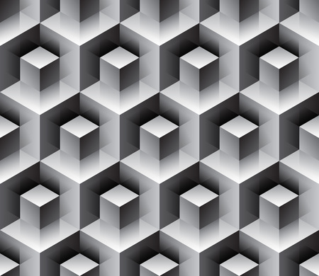 emboss: Seamless cubes background -   pattern for continuous replicate. See more seamlessly backgrounds in my portfolio.