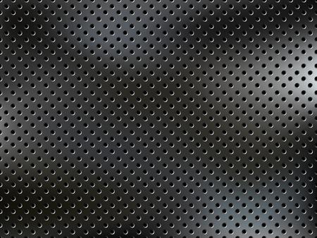 Metal net background.